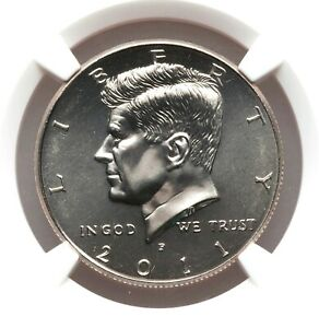 NGC MS66 2011-D Kennedy Half Dollar Early Releases Gem Uncirculated