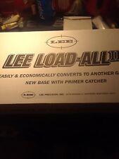 Lee Precision 90072 Conversi/ón Load-All II A Calibre 20 Talla /Única