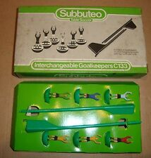 SUBBUTEO TABLE SOCCER C133 INTERCHANGEABLE GOALKEEPERS (C.133)