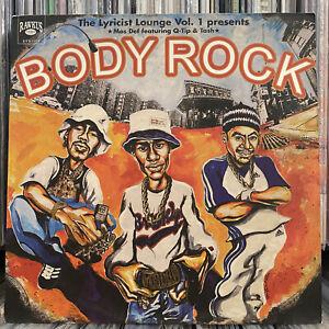 "MOS DEF + Q-TIP + TASH - BODY ROCK (12"")  1998!!  RARE!!  LYRICIST LOUNGE VOL 1"