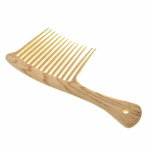 Unisex-Wooden-Tooth-Comb-Natural-Wood-Massage-Beauty-Hair-Care-Salon-Hairdress