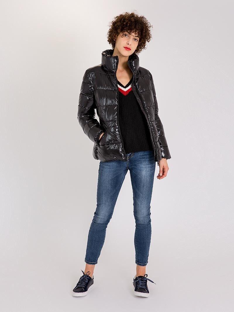 Manteau Femme Hiver Long en Laine Manches Longues avec Col Col Col Enveloppant b1768e