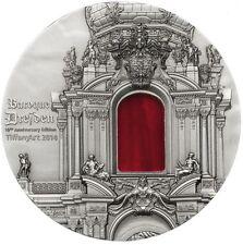 10 Dollars Palau TiffanyArt Barockes Dresden 2014 - 2 oz Silber mit Zertifikat