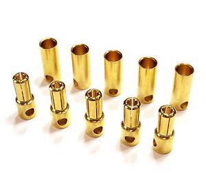 10-Paar-20-Stueck-5-5mm-5-5mm-Hochstrom-Goldstecker-Stecker-Buchse-Lipo-Akku-RC