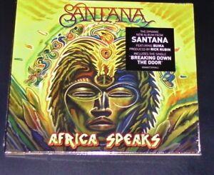 Santana-Africa-Speaks-CD-Dans-Digipak-Rapide-Expedition-Neuf-amp-Ovp