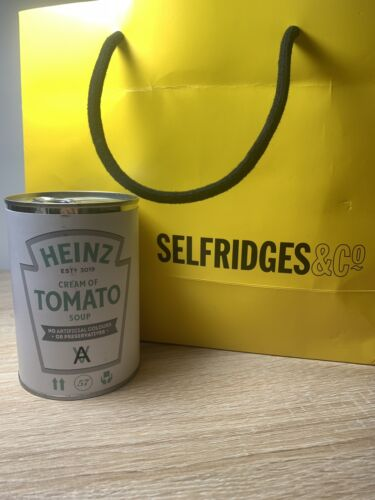 Selfridges Exclusive. Daniel Arsham//Heinz Tomato Soup Can
