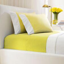 Ralph Lauren Flat Sheet New Bengal Stripe King Slicker Yellow MSRP $185