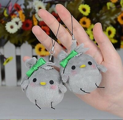 Anime love live! Minami Kotori Bird Plush Doll Cell Phone Strap Bag Hanging 1pcs