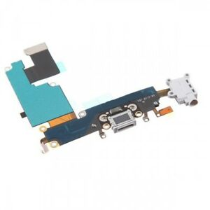 wholesale dealer 692f0 ec90a Details about White iPhone 6 Charging Port - Replacement Charger Flex Cable  USB Dock Mic