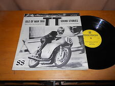 Isle of Man 1966 TT Races Sound Stories MOTORCYCLE LP Murray Walker USA ISSUE