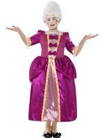 CHILD #EDWARDIAN GEORGIAN GIRL QUEEN FANCY DRESS OUTFIT HORRIBLE HISTORIES