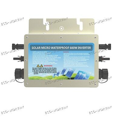 600W 1200W 110V Wechselrichter Waterproof Grid Tie Inverter with MPPT Function