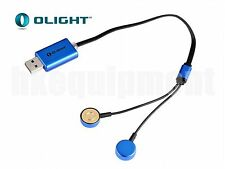 Olight UC Universal Magnetic USB Charger for Li-Ion or NiMH Battery
