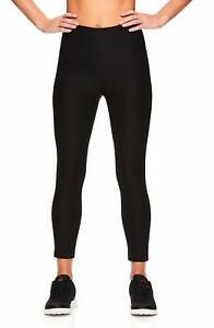 d25f30a43a1f0e Reebok Women's Capri Leggings w/High-Rise Waist - Performance ...