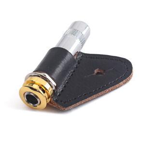 1-4-034-Guitare-Bass-End-Pin-Output-Jack-pour-Guitare-acoustique-Rosace-pickups