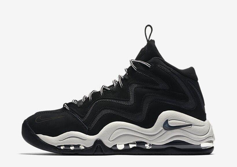 Nuove nike maschile aria pippen scarpa (325001-004) nero / antracite grande grey