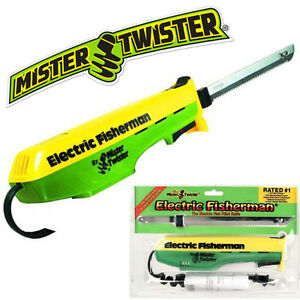 Mister Twister Electric Fisherman Fillet Knife Corded Fish