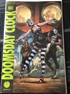 Doomsday Clock 6 Variant Cover By Dc Comics Ebay