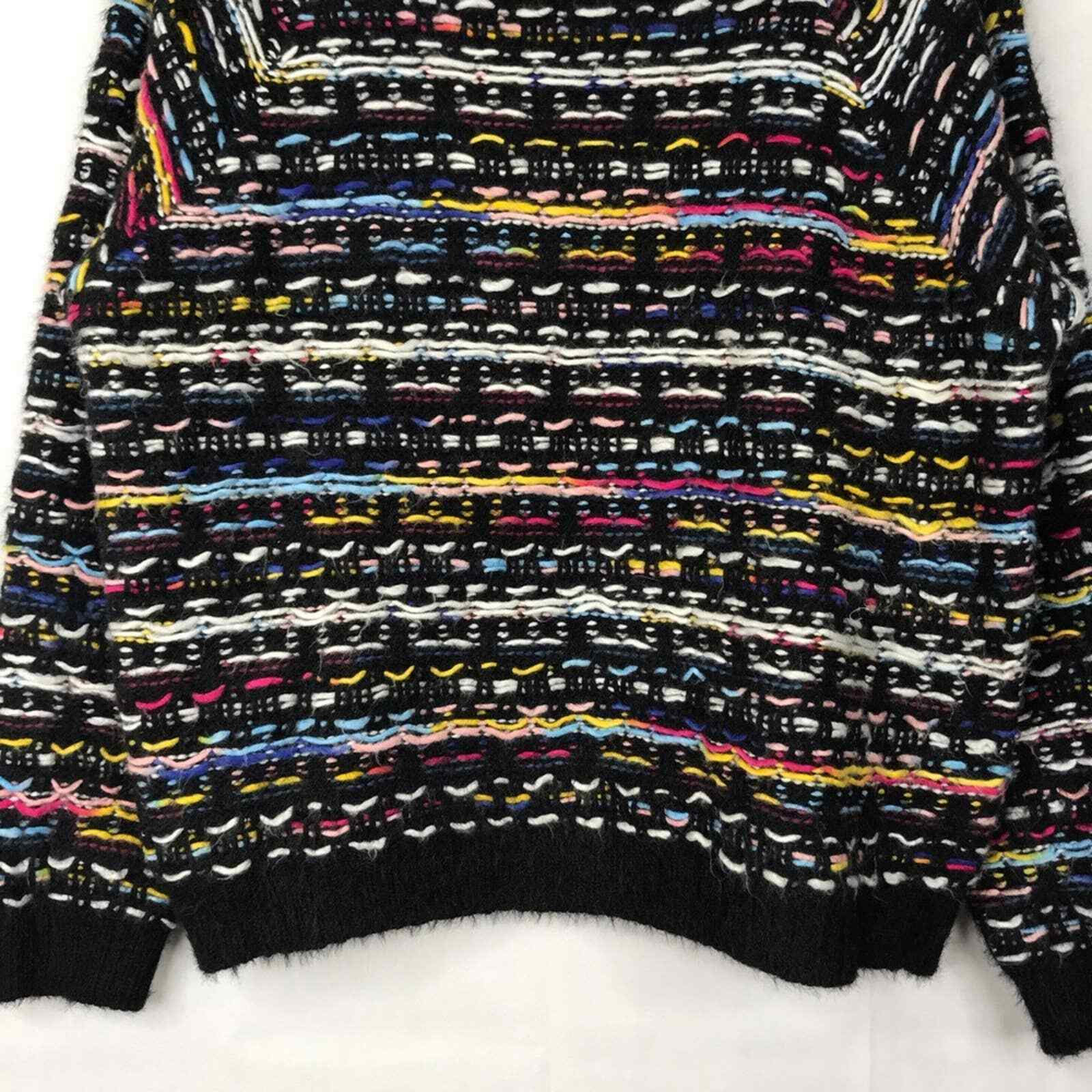 Lumiere multicolored textured knit sweater - image 4