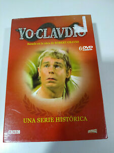 Yo-Claudio-Serie-TV-Completa-Robert-Graves-6-x-DVD-Espanol-Ingles