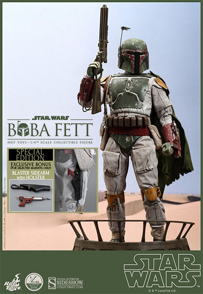 HOT TOYS Star Wars EPVI ROTJ 1 4 BOBA FETT Special Edition SIDESHOW Exclusive