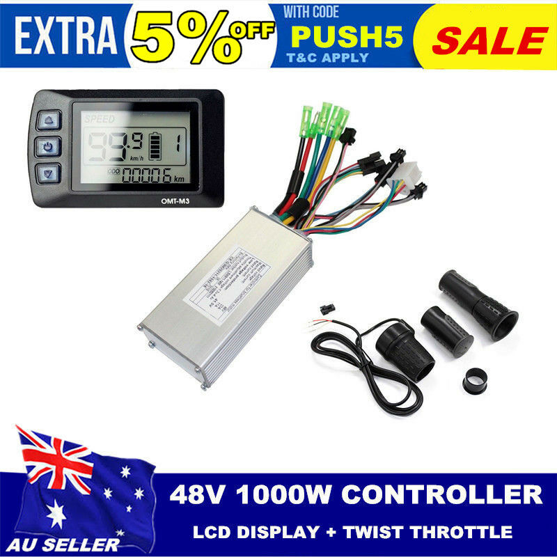 48V 1000w Ebike LCD Display + Controller  +  Twist Thredtle For Electric Bicycle  to provide you with a pleasant online shopping