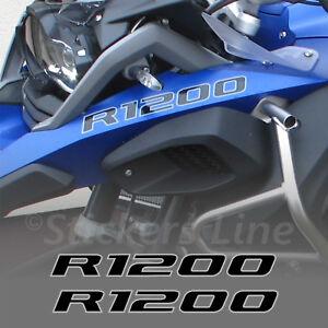 Adesivi-BMW-R1200-GS-Adventure-scritte-adesive-R1200-Becco-Anteriore-Nero-Grigio