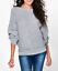 Womens-Ladies-Batwing-Knit-Sweater-Long-Sleeve-Oversized-Loose-Jumper-Pullover thumbnail 13