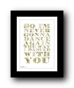 GEORGE-MICHAEL-wham-Careless-Whisper-song-lyrics-poster-art-print-5