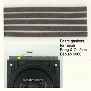 Gaskets Foam For Bang Amp Olufsen Beolab 6000 Repair With