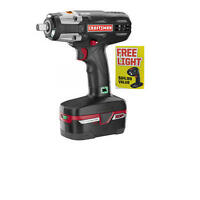 Craftsman C3 1/2 19.2v Xcp Cordless Impact Wrench W/ Light
