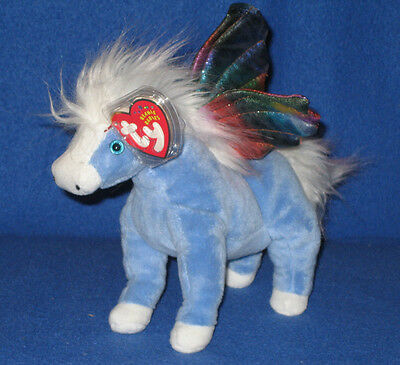 Winged Horse MWMT Ty Beanie Baby ~ PEGASUS the Pegasus 6 Inch