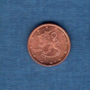 Finlande 2004 1 centime d'euro SUP SPL Pièce neuve de rouleau - Finland