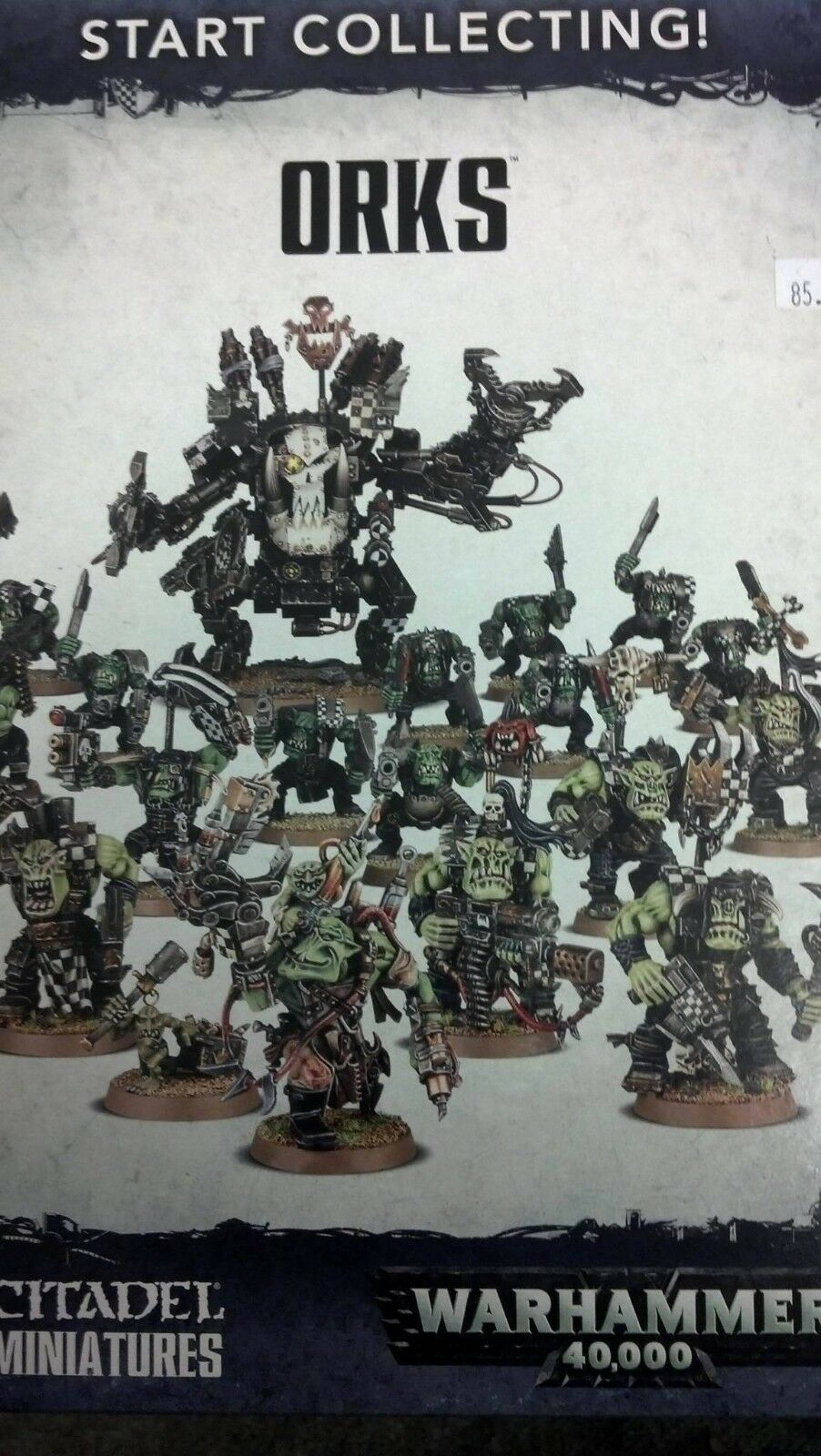 Warhammer 40K START COLLECTING  ORKS    Ork  Nobz, Boyz, and Deff Dred, New
