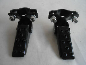 Old School BMX Fork Standers New Black GT 80/'s Type folding