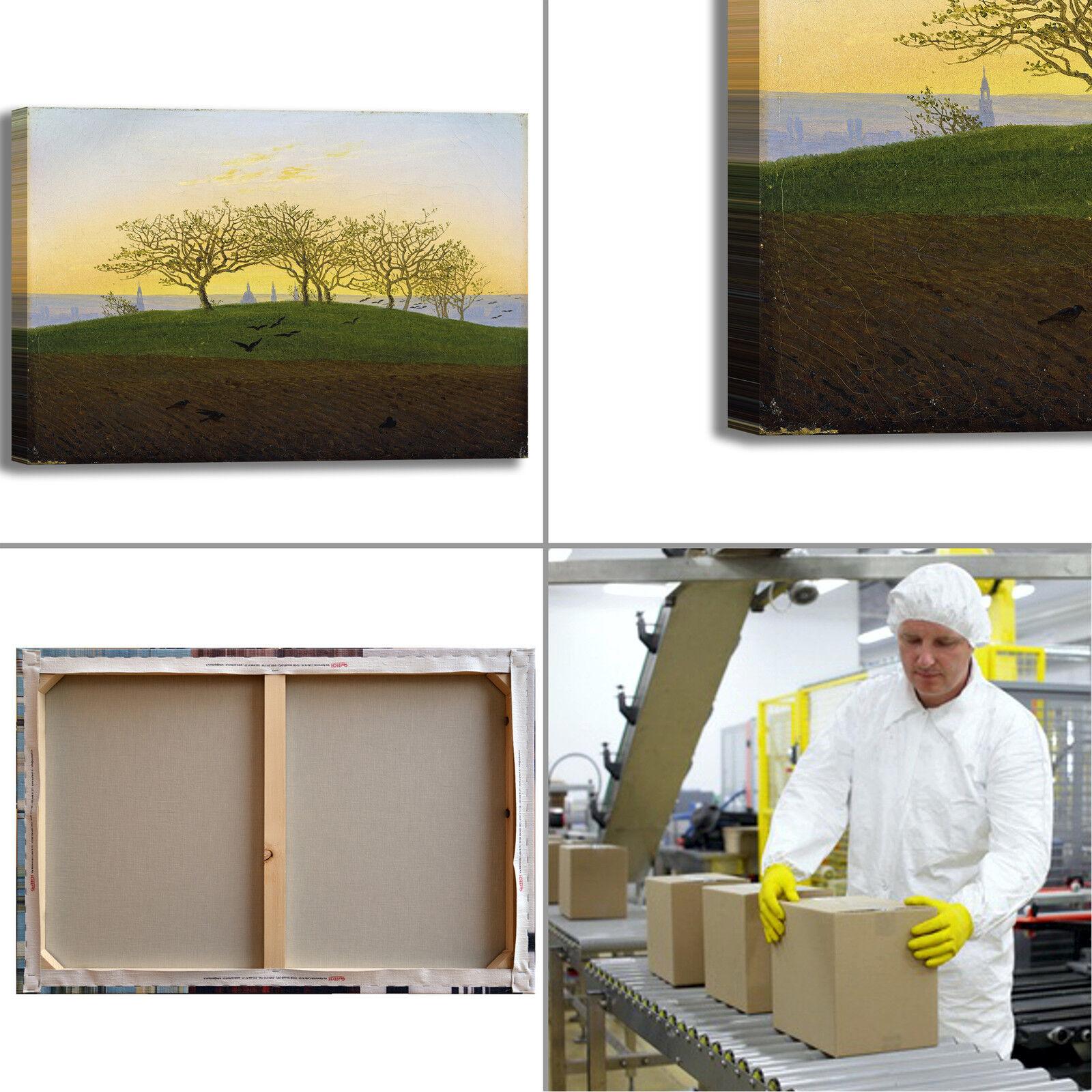 Caspar collina tela campo arato design quadro stampa tela collina dipinto telaio arRouge o casa 479c1e