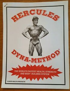 Just found my dads old Hercules II bodybuilding books
