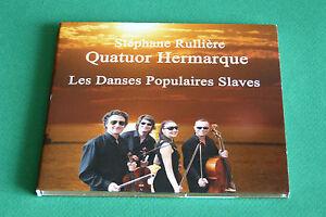 CD-S-RULLIERE-QUATUOR-HERMARQUE-034-LES-DANSES-POPULAIRES-SLAVES-034-DIGIPACK-TB-ETAT