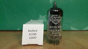 Mullard-ECC83-12AX7-mC1-1956-Long-Plate-Square-Getter-Vacuum-Tube