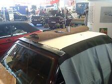 VW Golf 1 Cabrio Polsterbezug neu original Material für das Verdeck