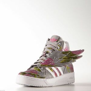 cd17841bc8f6 Adidas Originals Jeremy Scott Wings 2.0 Shoes Floral Reflective ...