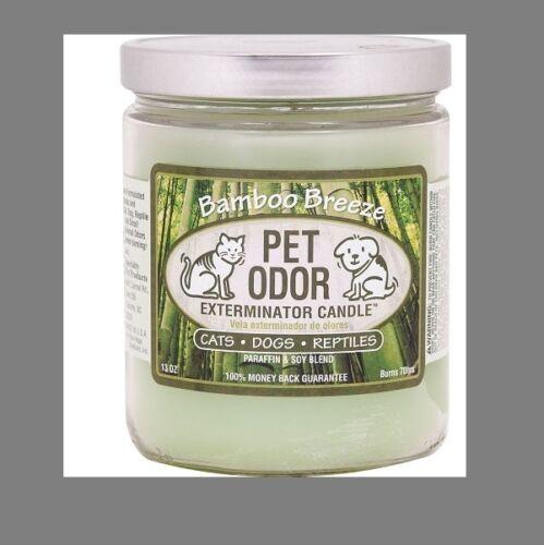"""Pet Odor Exterminator Candle /"""" Bamboo Breeze/"""""""