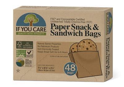 Iniziativa Se U Care Sandwich Sacchetti - 48 Sacchetti- In Corto Rifornimento