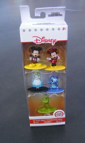 Jada Nano Metalfigs Disney Pixar Metal Figure Diecast Set Of 5 Disney figures