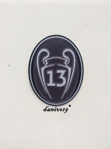 Real Madrid Pokal 13 Champions League 2019 2020 Logo Patch Hazard Trikot