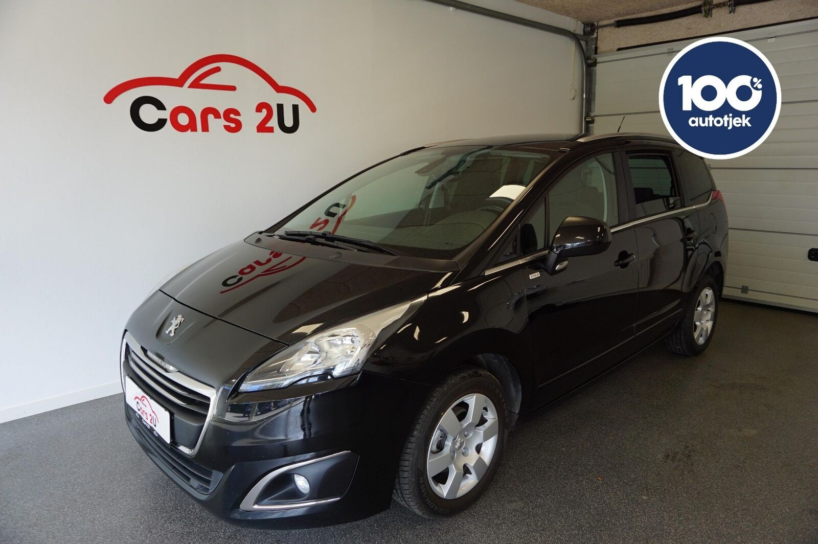 Peugeot 5008 1,6 HDi 114 Style 7prs 5d - 139.900 kr.