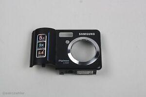 Samsung Digimax S500/Cyber530 Frontcover Gehäuse vorne Dunkelgrau original