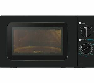 ESSENTIALS C17MB20 Solo Microwave - Black - Currys