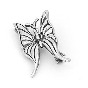 Butterfly Cotton Pin Brooch Artisan Handmade,