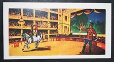 Astley's Circus Theatre    Original Circus   Large Illustrated Card  VGC / EXC
